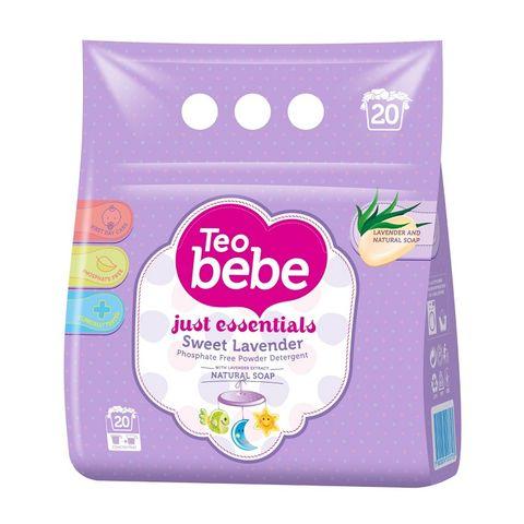Teo Bebe Прах за пране с екстракт от лавандула х1,5 кг