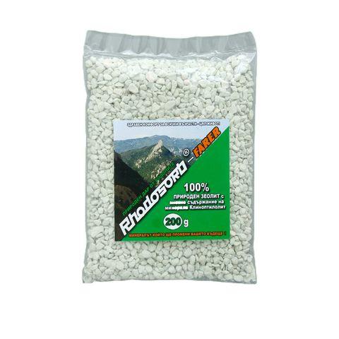 Rhodosorb-Farer Природен Зеолит с високо съдържание на Клиноптилолит х200 грама