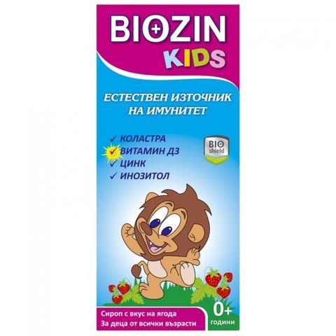Биозин Кидс Сироп за деца за имунитет х100 мл BioShield