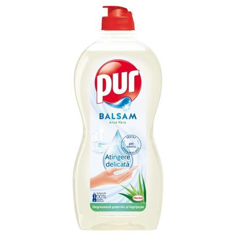 Pur Balsam Aloe Vera Препарат-балсам за миене на съдове х450 мл