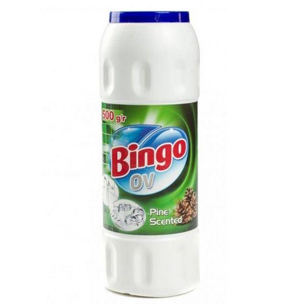 Bingo Ov Pine Scented Почистващ препарат за кухня с аромат на бор x500 грама
