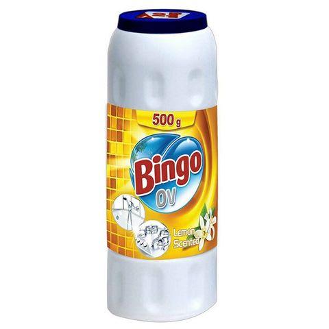 Bingo Ov Lemon Scented Препарат за кухня с аромат на цитрус x500 грама