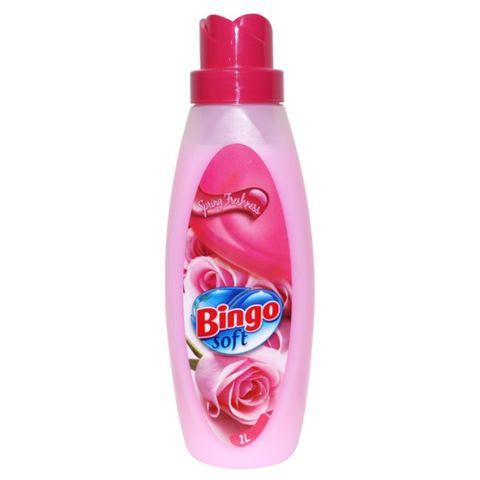 Bingo Soft Spring Freshness Омекотител за пране x1 литър