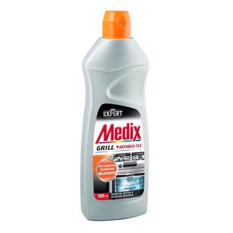 Medix Grill Препарат за фурни и загорели мазнини x500 мл