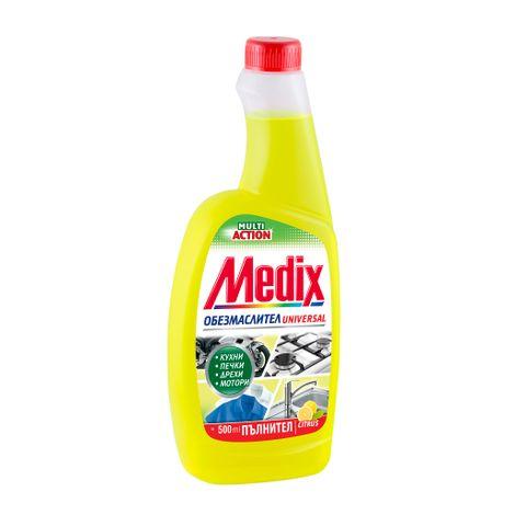 Medix Multi Action Citrus Обезмаслител за повърхности пълнител x500 мл