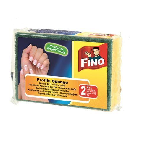 Fino Profile Sponges Кухненска гъба с канал x2 броя