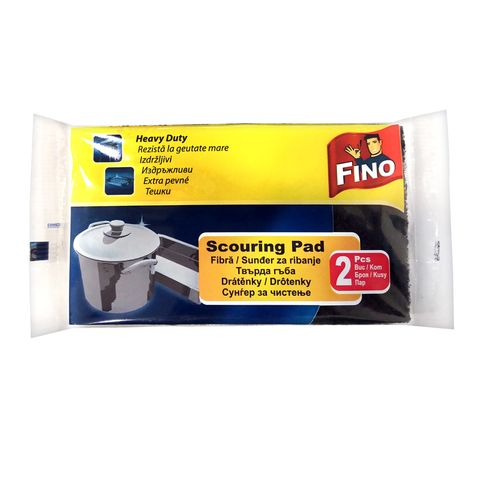 Fino Scouring Pad Твърда гъба за повърхности x2 броя