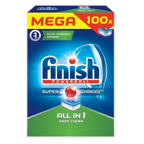 Finish All In 1 Таблетки за съдомиялна машина x100 броя