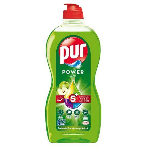 Pur Power Apple Препарат за миене на съдове х450 мл