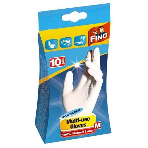 Fino Natural Latex M Ръкавици за еднократна употреба x10 броя