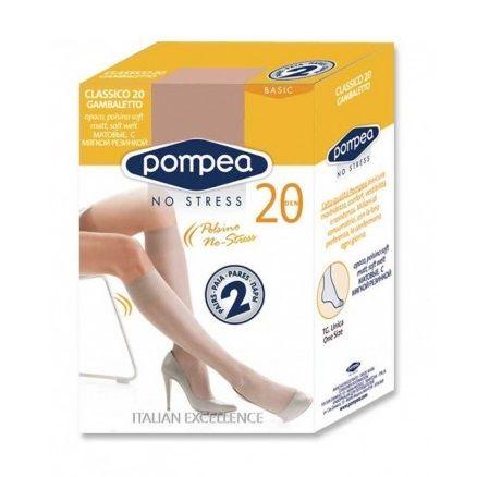Pompea Classico 20 GB Дамски еластични чорапи, цвят Claro х1 брой