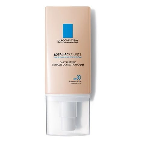 La Roche-Posay Rosaliac Изравняващ СС крем за цялостно коригиране за чувствителна кожа SPF30 x50 мл