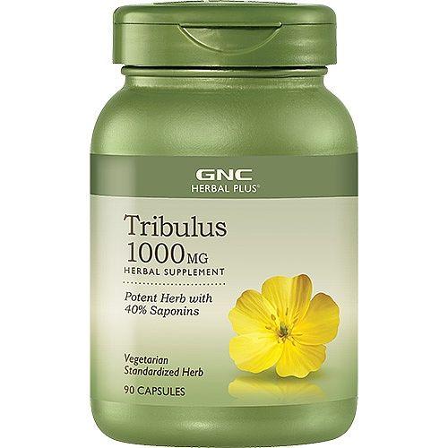 GNC Tribulus Бабини зъби за мъже 1000мг х90 капсули