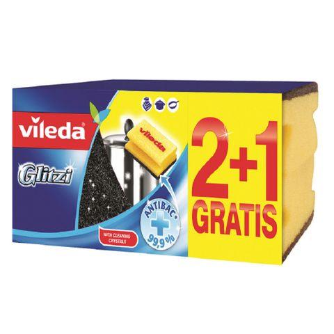 Vileda Glitzi Домакински гъби x3 броя