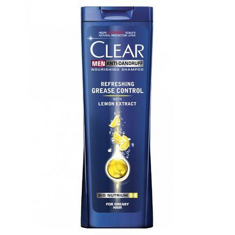 Clear Men Refreshing Grease Contro Шампоан против пърхот за мъже с екстракт от лимон х250 мл
