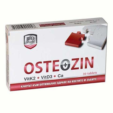 Остеозин за здрави кости и зъби х30 таблетки BioShield