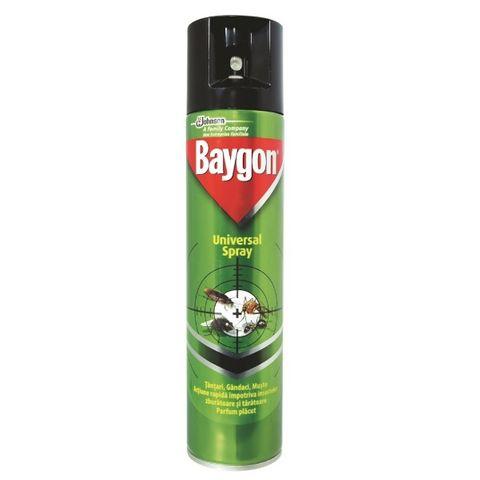 Baygon Аерозол срещу пълзящи насекоми x400 мл