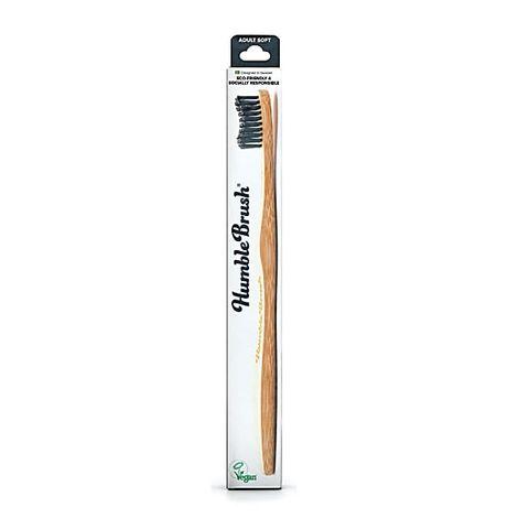 Humble Brush Бамбукова четка за зъби за възрастни, цвят Черна х1 брой