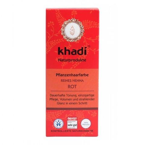 Khadi Билкова боя за коса, цвят Червен x100 грама