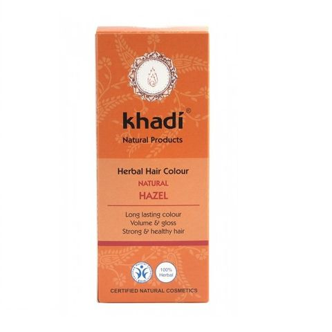 Khadi Билкова боя за коса, цвят Лешник x100 грама