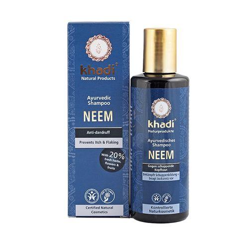 Khadi Био шампоан за коса против пърхот с нийм х210 мл