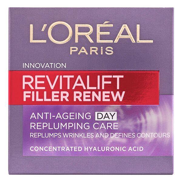 Loreal Revitalift Filler Renew Дневен крем за лице против бръчки x50 мл