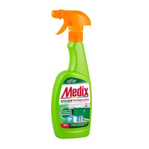 Medix Expert Kitchen Универсален почистващ спрей за различни повърхности x500 мл