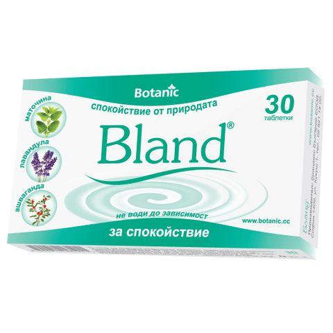 Botanic Бланд х30 таблетки