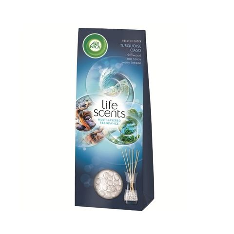 Air Wick Reed Turquoise oasis Ароматизатор ратанови пръчици x30 мл