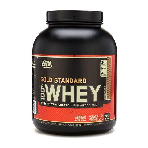 Optimum Nutrition Gold Standard 100% Суроватъчен протеин Шоколадов малц х2270 грама