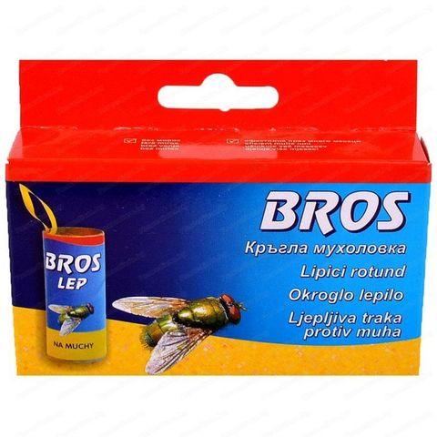 Bros Лепяща лента-капан за мухи х4 бр