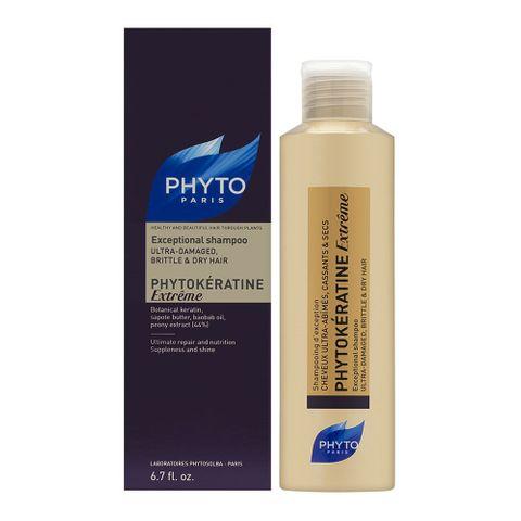 Phyto Phytokeratine Extreme Шампоан за силно увредена и суха коса х200 мл