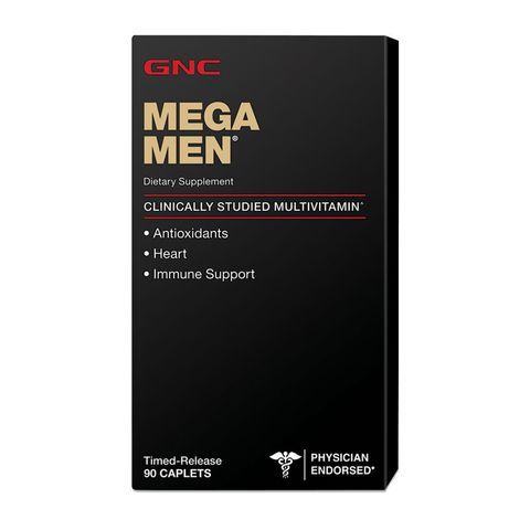 GNC Mega Men Мултивитамини за мъже х90 каплети с удължено освобождаване