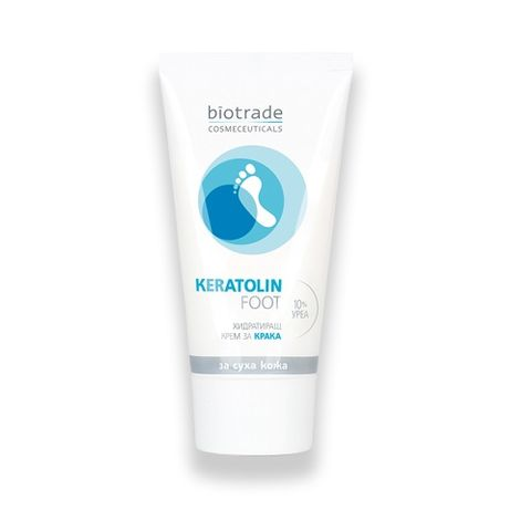 Biotrade Keratolin Foot Хидратиращ Крем за Крака с 10% Урея x50мл