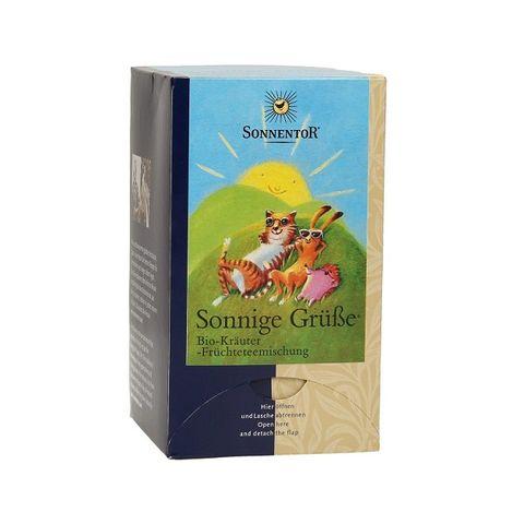 Sonnentor Био чай Слънчеви поздрави х18 филтърни пакетчета