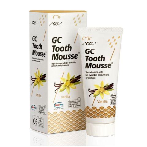 GC Tooth Mousse Реминерализиращ дентален крем с вкус на ванилия х35 мл