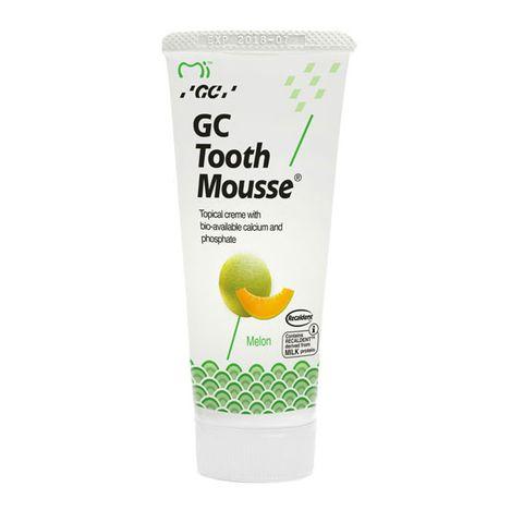 GC Tooth Mousse Реминерализиращ дентален крем с вкус на пъпеш х35 мл