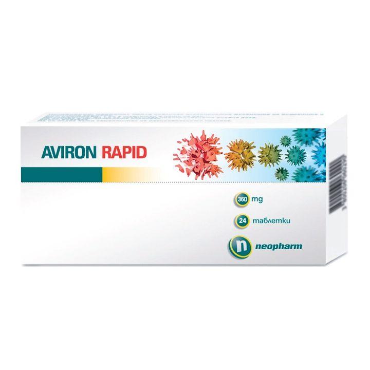 Авирон Рапид 360мг х24 таблетки - Neopharm