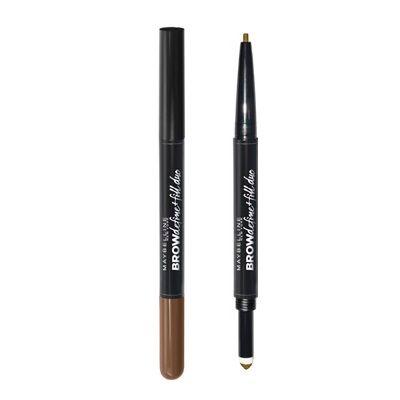 Maybelline Дълготраен молив и пудра за вежди 2в1, 02