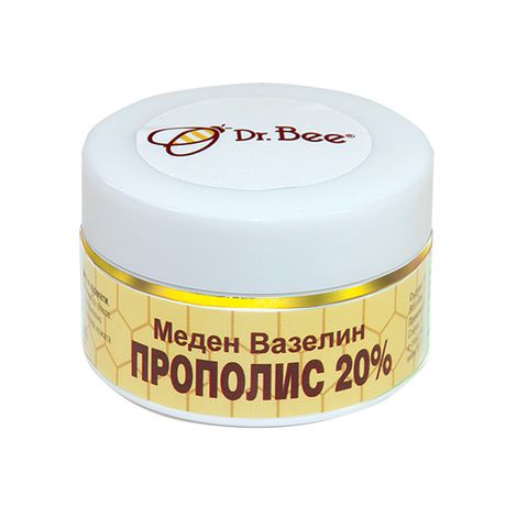 Dr. Bee Меден вазелин Прополис 20% х40 мл