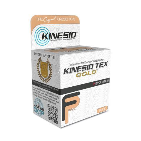 Kinesio Tex Gold Терапевтична лента Бежова 5см х 5м