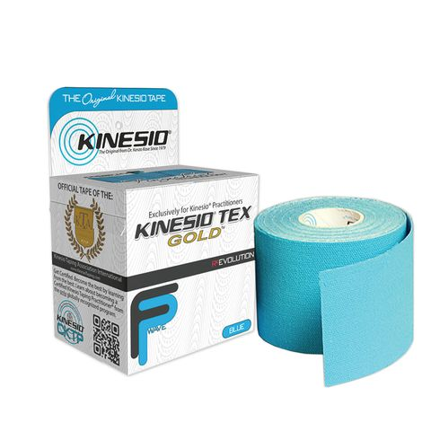 Kinesio Tex Gold Терапевтична лента Синя 5см х 5м