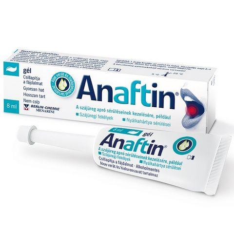Anaftin gel Облекчаващ гел за ранички и афти х8 мл Berlin Chemie