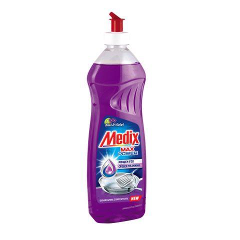 Medix Max Power Kiwi & Violet Препарат за съдове с аромат на киви и теменужки х450 мл