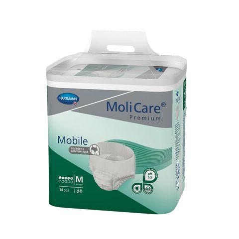 Hartmann MoliCare Mobile Абсорбиращи памперс-гащи за възрастни М х14 броя