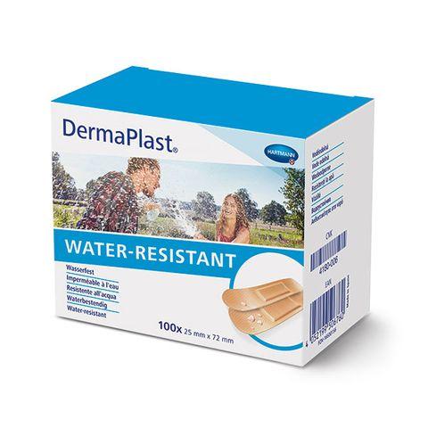 Hartmann DermaPlast Universal Водоустойчив пластир за малки рани 25x72мм x100 броя