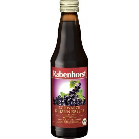 Rabenhorst Schwarse Johannisbeere Био натурален сок от касис х330 мл