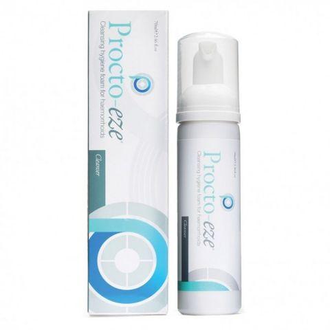 Прокто-Изи Почистваща пяна за анална хигиена при хемороиди х40 мл