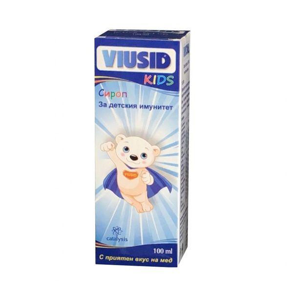 Catalysis Виузис кидс Сироп за детския имунитет х100 мл