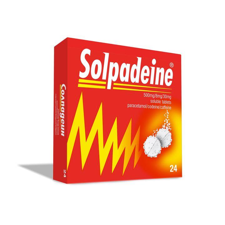 Солпадеин Разтворими таблетки при болка х24 бр
